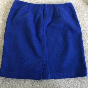 Banana Republic Skirts - Banana Republic Cobalt Blue Skirt (Size 4)